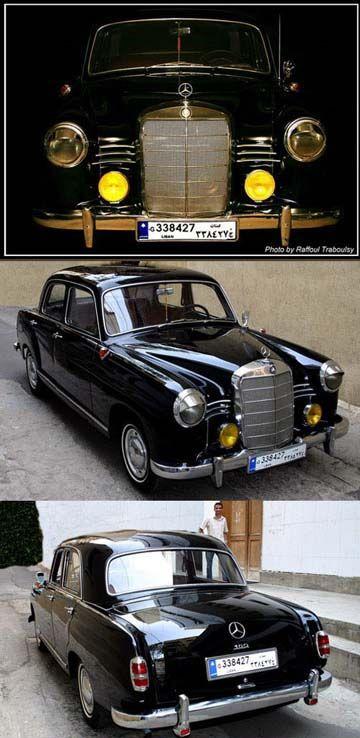 1959 Mercedes-Benz 180b