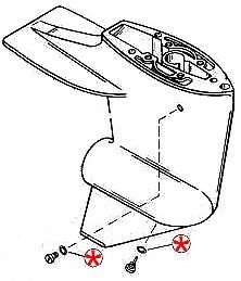 5 PACK Oil Drain/Vent Screw Seal Mercruiser Alpha Bravo Mercury Marine Outboard