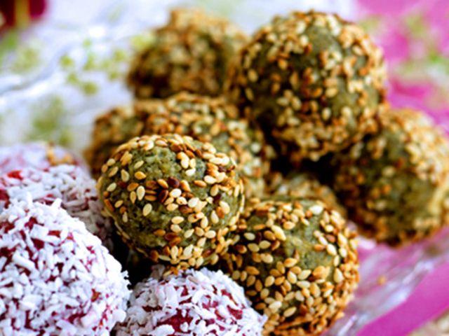 Frukt- och nötbollar (kock Ulrika Davidsson)