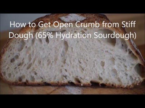 How to Get Open Crumb from Stiff Dough [Video] - Breadwerx