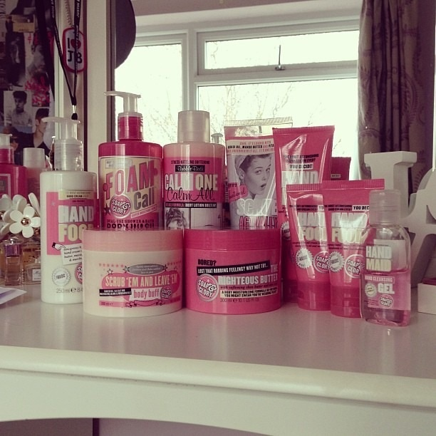 Would love to try Soap & Glory products...but not budget friendly :(
