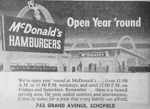 75 best old newspaper ads images on pinterest vintage for Michaels crafts wausau wi