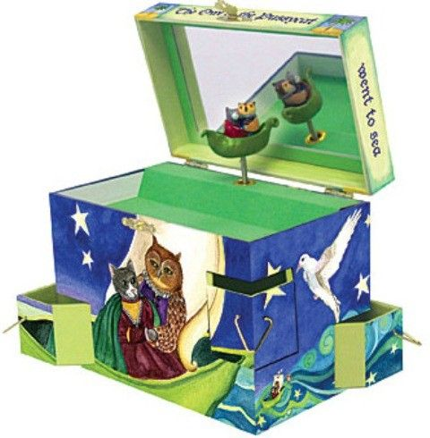Enchantmints - Musical Jewellery Treasure Box Owl and the Pussycat  #EntropyWishList #PinToWin