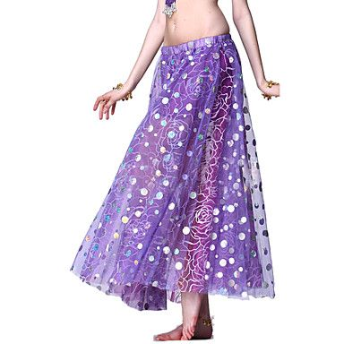 Dancewear Tulle Belly Dance Skirt For Ladies More Colors – USD $ 29.99