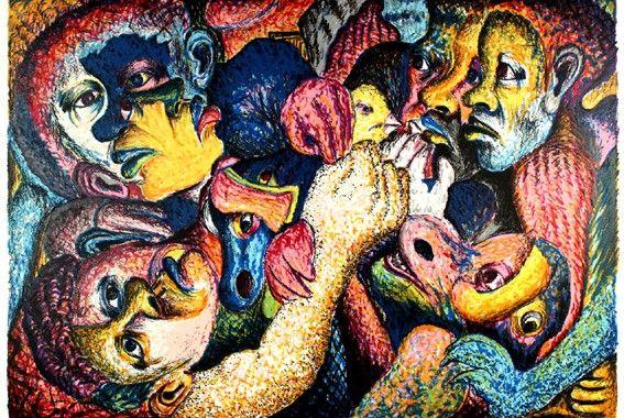 "Mmakgabo Helen Sebidi  ""Don't let it go""  Durban Art Gallery  #art #durban"