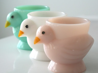the sweetest little egg cups I ever did see!
