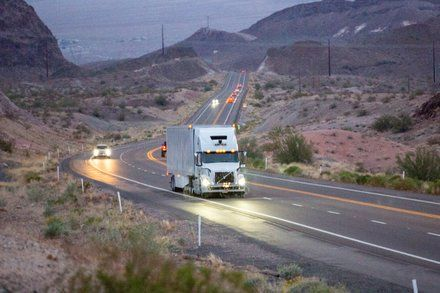 Ubers Self-Driving Trucks Hit the Highway but Not Local Roads