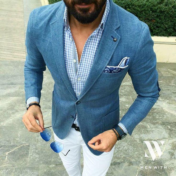 Какие цвета в мужской одежде сочетаются? #mensterra Одевайся стильно, красиво и комфортно!   #синий #индиго #удобнаяодежда #чтоодеть #мужскойпиджак #пиджак #городскойстиль #урбан #urban
