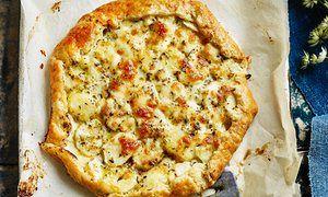Claire Ptak's mozzarella, rosemary and new potato tarts