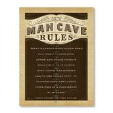 Found it at Wayfair.co.uk - Man Cave Rules Wall Art on Canvas