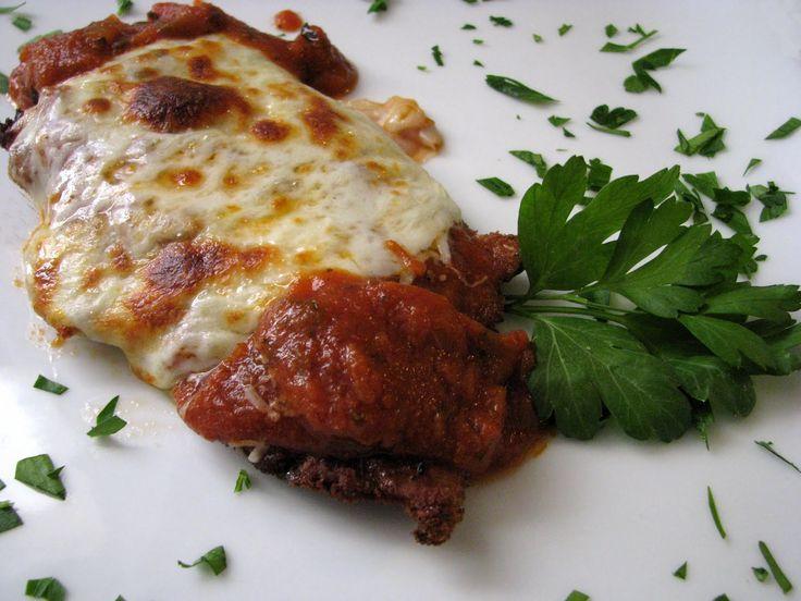 Mia Cucina Vitello alla Parmigiano  Food in 2019  Stuffed peppers Veal scallopini Chicken