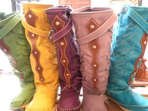See, I can have a pair in every color!Hector Riccione