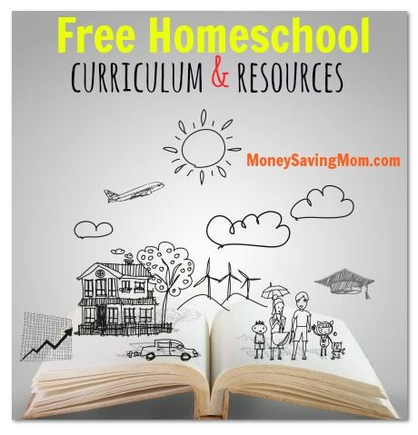 Check out this HUGE List of Free Homeschool Curriculum & Resources!