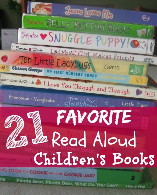 21 Favorite Read Aloud Children's Books - Creative Home Keeper