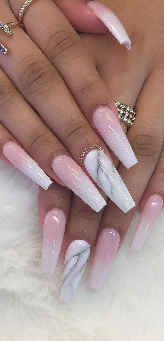 Awesome New Year Best Ombre Nail Ideas For 2020 Part 29 Trendy Nail Art Designs Ombre Nail Designs Coffin Nails Matte