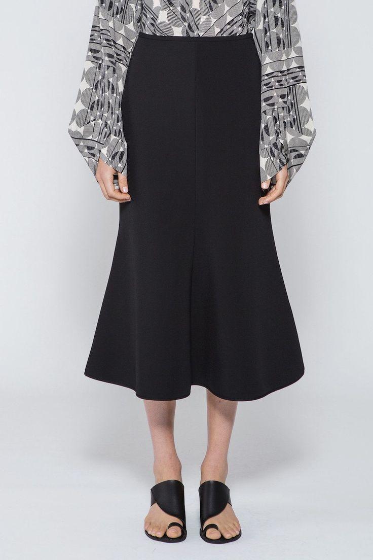 Acler - Billing Skirt Black