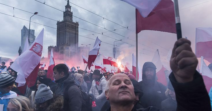 Nationalist March For Poland's Independence Day Draws 60,000