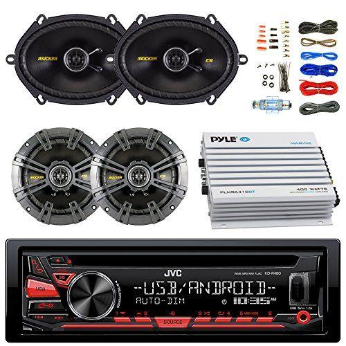 98 2013 Harley FLHX FLHT Installation Kit KDRD97BT Bluetooth USB CD Car Receiver