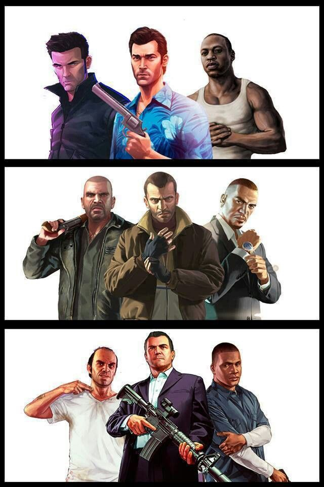 Grand Theft Auto. Which team would win?