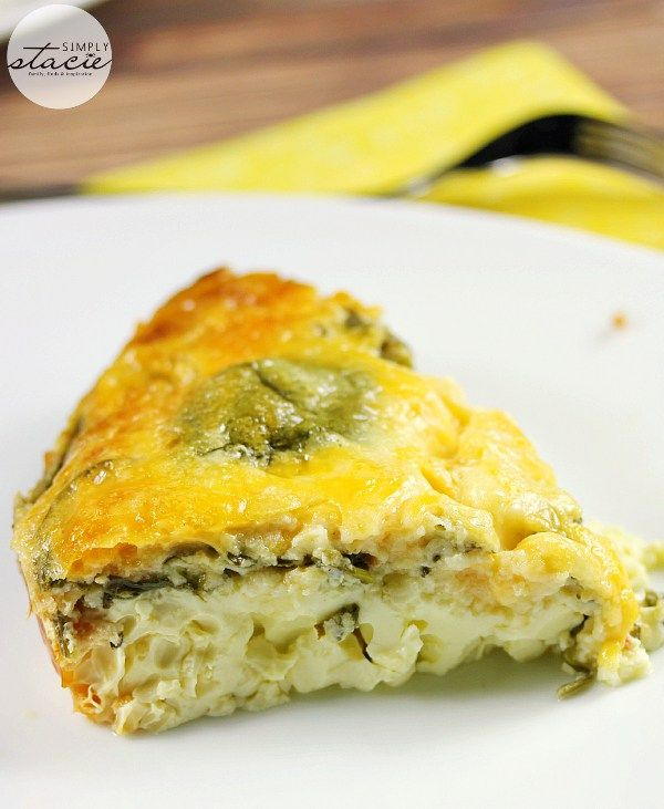 Slow Cooker Spinach & Feta Quiche