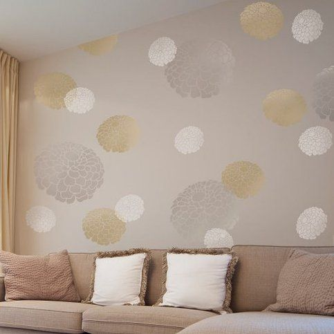 Favorite Flower Floral Wall Stencil - MEDIUM - Reusable Wall Stencils for DIY Home Decor By Cutting Edge Stencils sold by Cutting Edge Stencils. Shop more products from Cutting Edge Stencils on Storenvy, the home of independent small businesses all over the world.