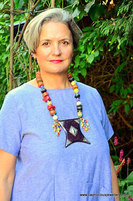 Statement necklace Bohemian Jewellery Colourful Jewellery