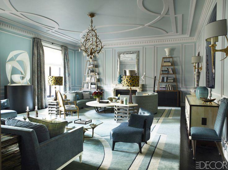 HOUSE TOUR: An Elegant French Home Worthy Of Royalty  - ELLEDecor.com, designer Jean-Louis Deniot #interiordesign #decorating #interiors