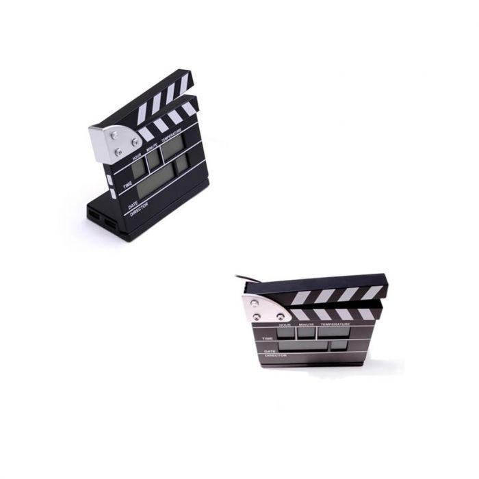 Horloge Clap de Cinéma Hub Usb ref 48