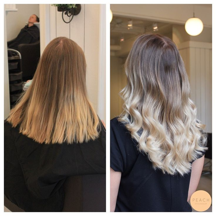 Isblond ombre