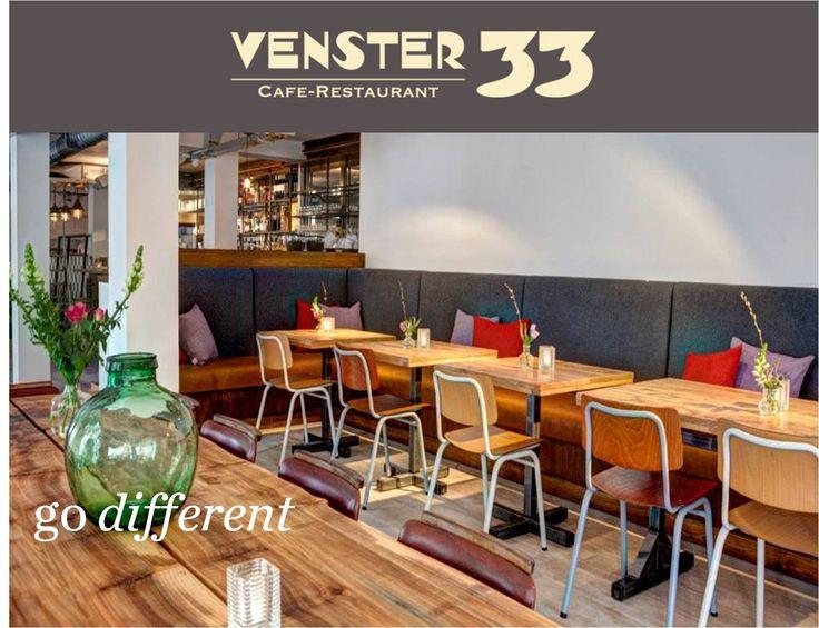 Venster 33 in de Amsterdamse Pijp. Bruisende nieuwe tent met lekkere hapjes en een uitgebreide luxe wijnkaart. Lekker ongedwongen genieten in één van de meest dynamische Amsterdamse buurten.
