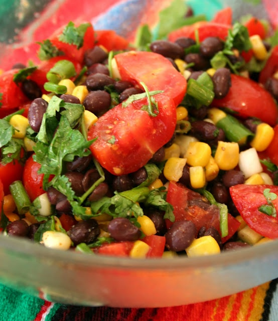 Southwestern Salad | Food - Sides and Appetizers | Pinterest