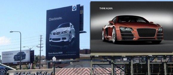 9 ejemplos de publicidad exterior que se aprovecha de emplazamientos vecinos
