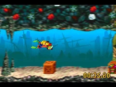 Crash Bandicoot: XS/The Huge Adventure (Game Boy Advance) Gameplay : (18...