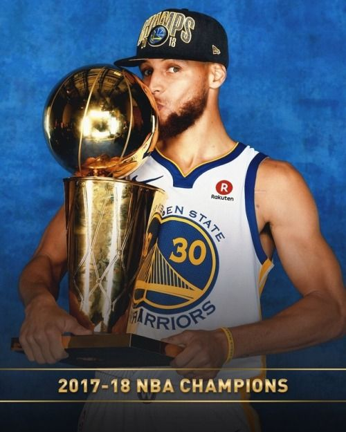 Stephen Curry Championship Trophy 2017
