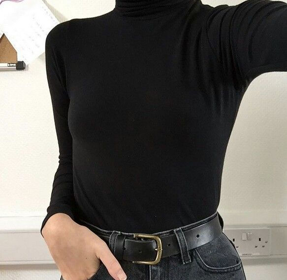 Belted | All black | Styling advice | Harper and Harley