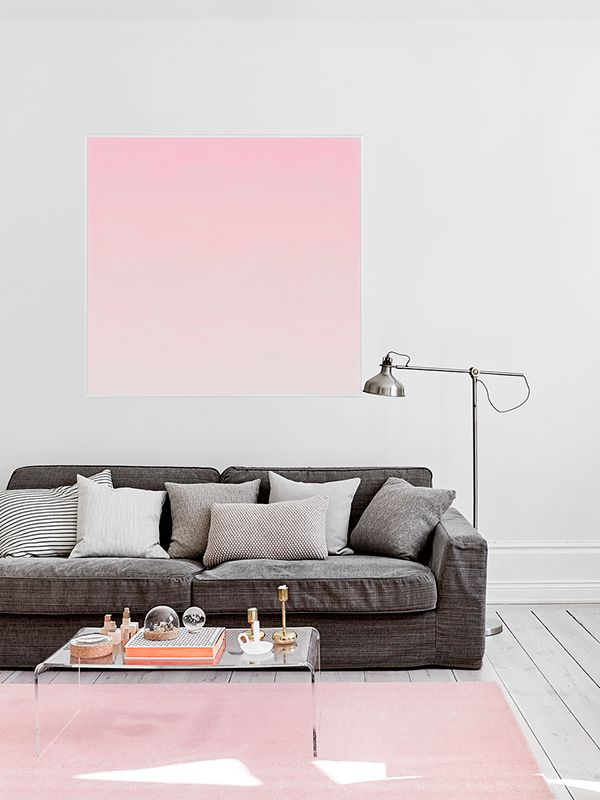 fantastic pink... styling by Mimmi Staaf | via (my) unfinished home