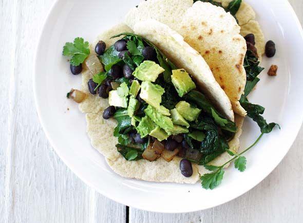 greens and beans burrito // good things grow: Beans Burritos, Good Things, Bean Burritos, Black Beans, Beans Healthy, Vegans Gluten Free, Green Beans, Whole Wheat Flour, Burritos Recipes