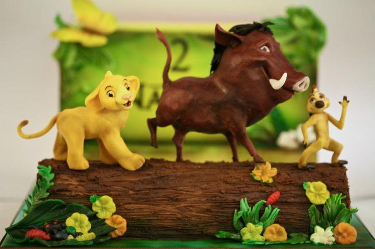 Lion king cake by Olga Danilova