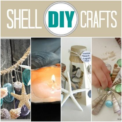 Hey there shelly! DIY Shell Crafts - shell shadow box, shell wall art,