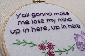 17 Cross Stitch Patterns For Your Sassy Home - BuzzFeed Mobile