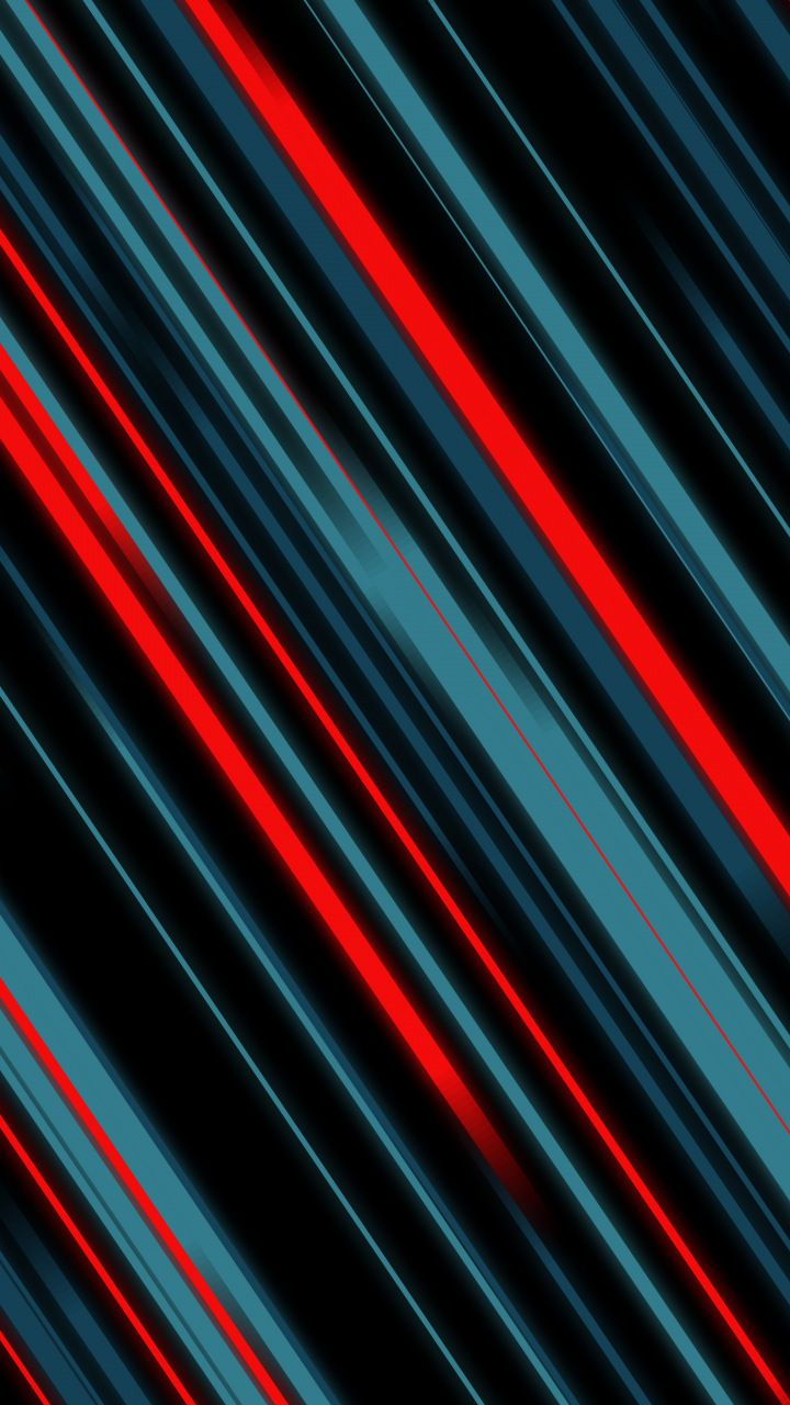 Material Style Lines Red And Dark Abstract 720x1280 Wallpaper
