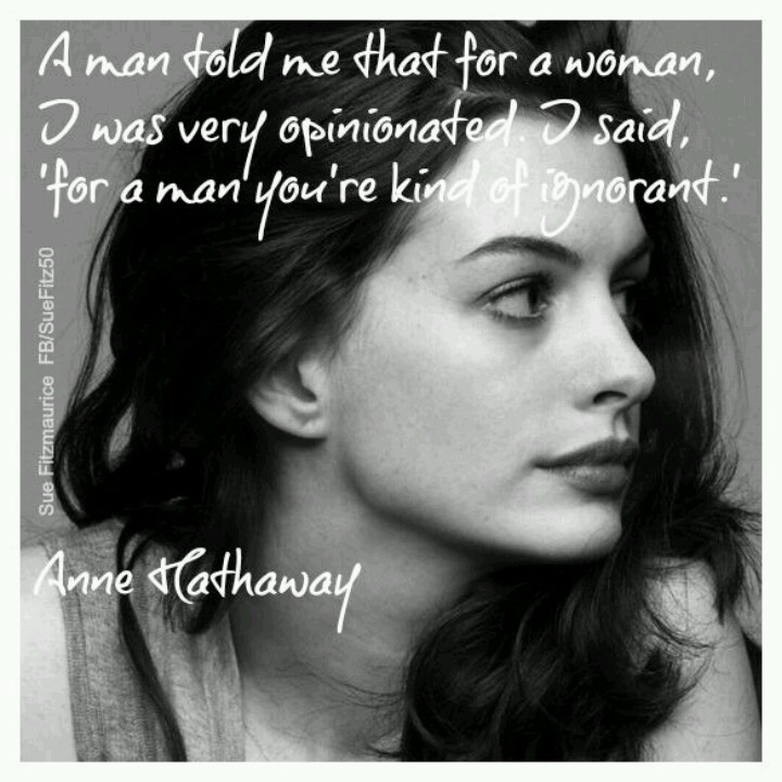 Anne Hathaway Ellen Drinking: Pin By Natasha On Feminism.