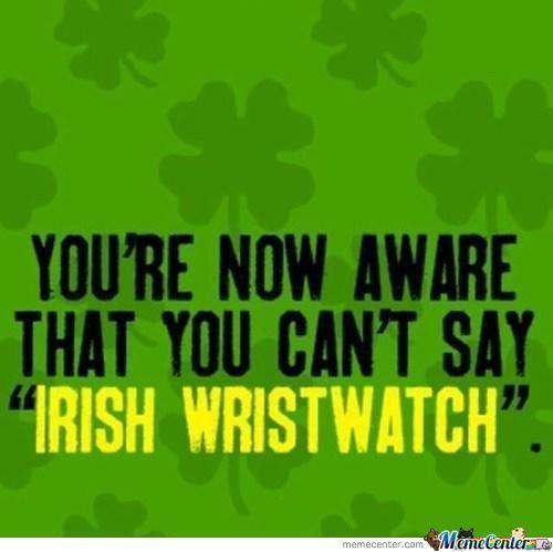 IRISH WRISTWATCH