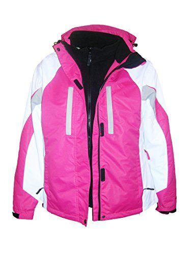 Fashion Bug Pulse Plus Size Women's 3in1 Geo Ski Jacket Coat 1X 2X 3X 4X 5X www.fashionbug.us