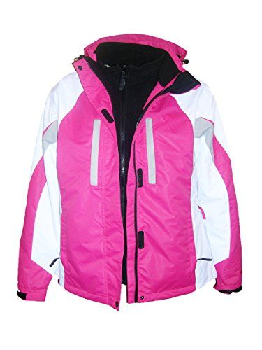 Fashion Bug Pulse Plus Size Women's 3in1 Geo Ski Jacket Coat 1X 2X 3X 4X 5X www.fashionbug.us