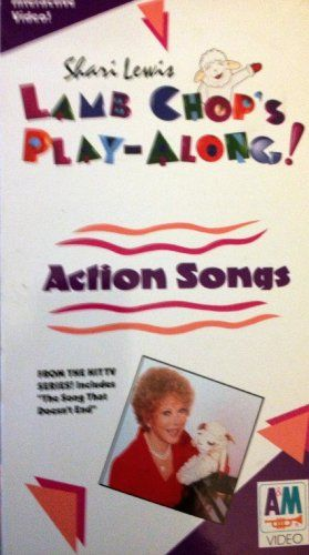 Shari Lewis Lamb Chop's Play-Along! Action Songs [VHS] Sony http://www.amazon.com/dp/630248071X/ref=cm_sw_r_pi_dp_MnYgwb1FABJDD