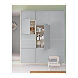 VEDDINGE Dør, grå - grå - 40x80 cm - IKEA