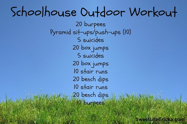Schoolhouse Outdoor Workout