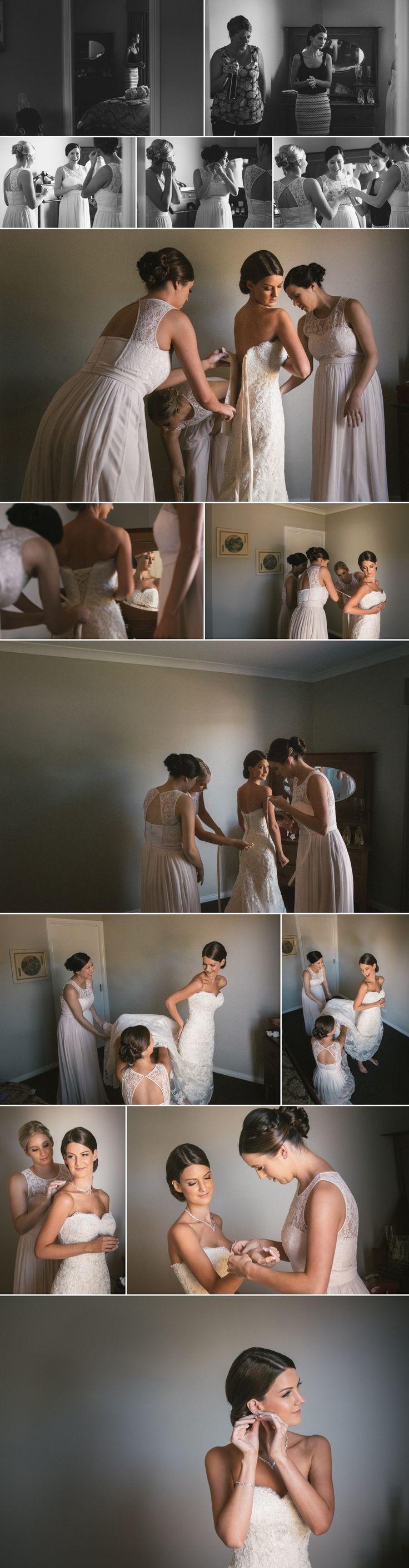 Bridal prep' photographs of Kim's Bendigo wedding. Love the light here !  www.shaunguestphotography.com.au