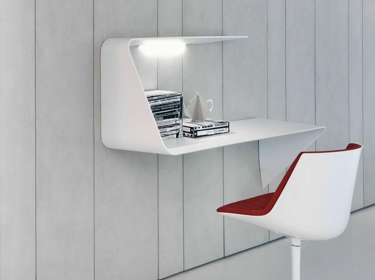 Cristalplant® secretary desk MAMBA by MDF Italia design Victor Vasilev